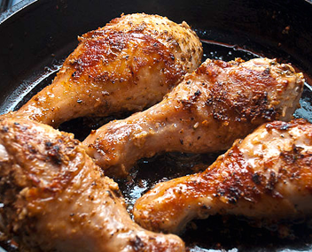 как пожарить куриные шейки на сковороде
