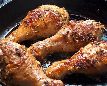 Как долго жарить курицу