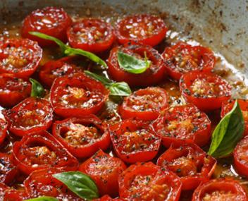 как приготовить жареные помидоры